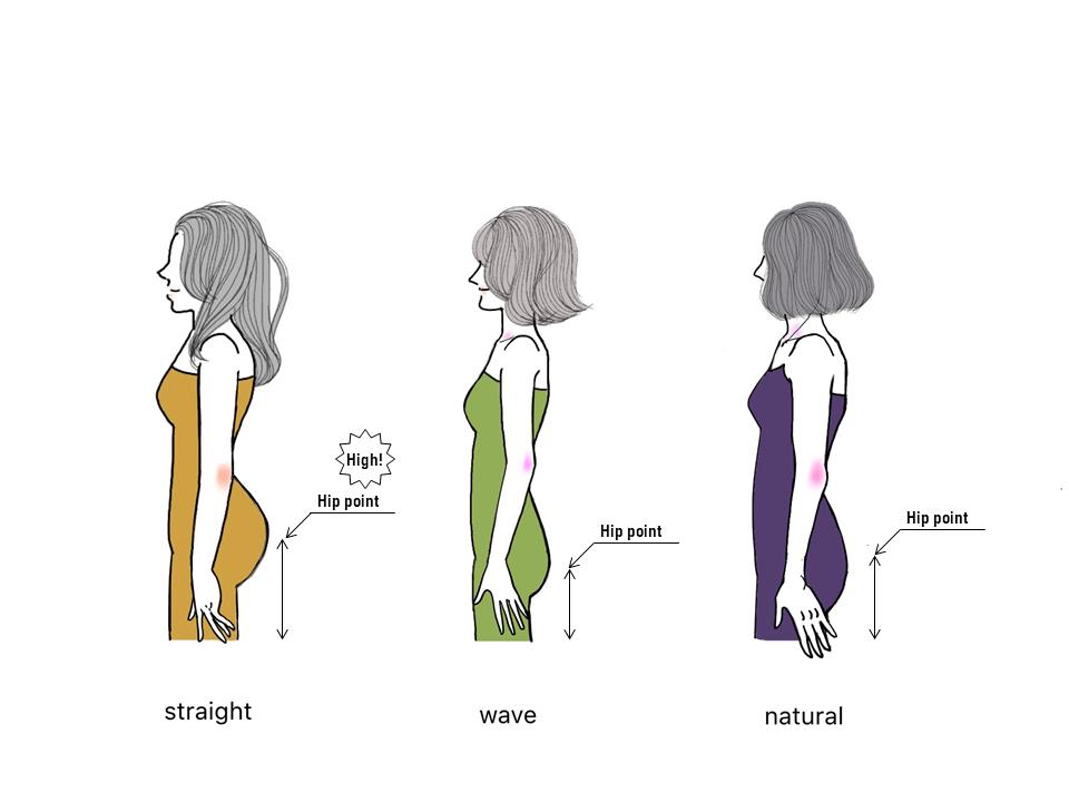 骨格タイプ別画像