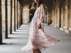 ウェーブドレス