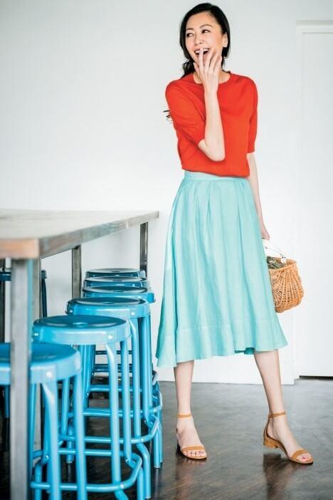 春パーソナルカラーイメージファッション