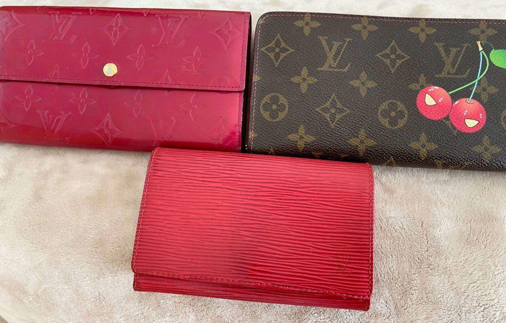 歴代の財布