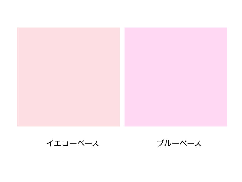 ピンク:イエローブルー